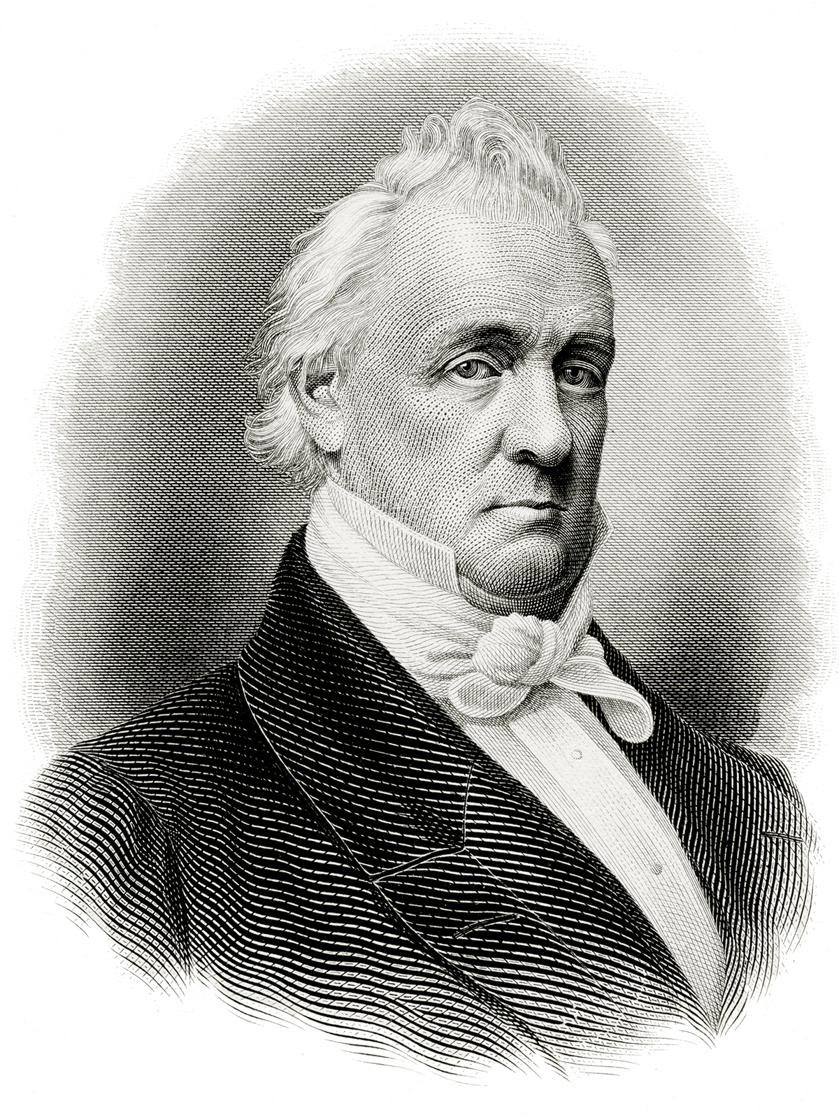 Acting drawing james buchanan. Timeline of presidents at