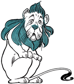 Drawing tigers humanoid. Cowardly lion wikipedia