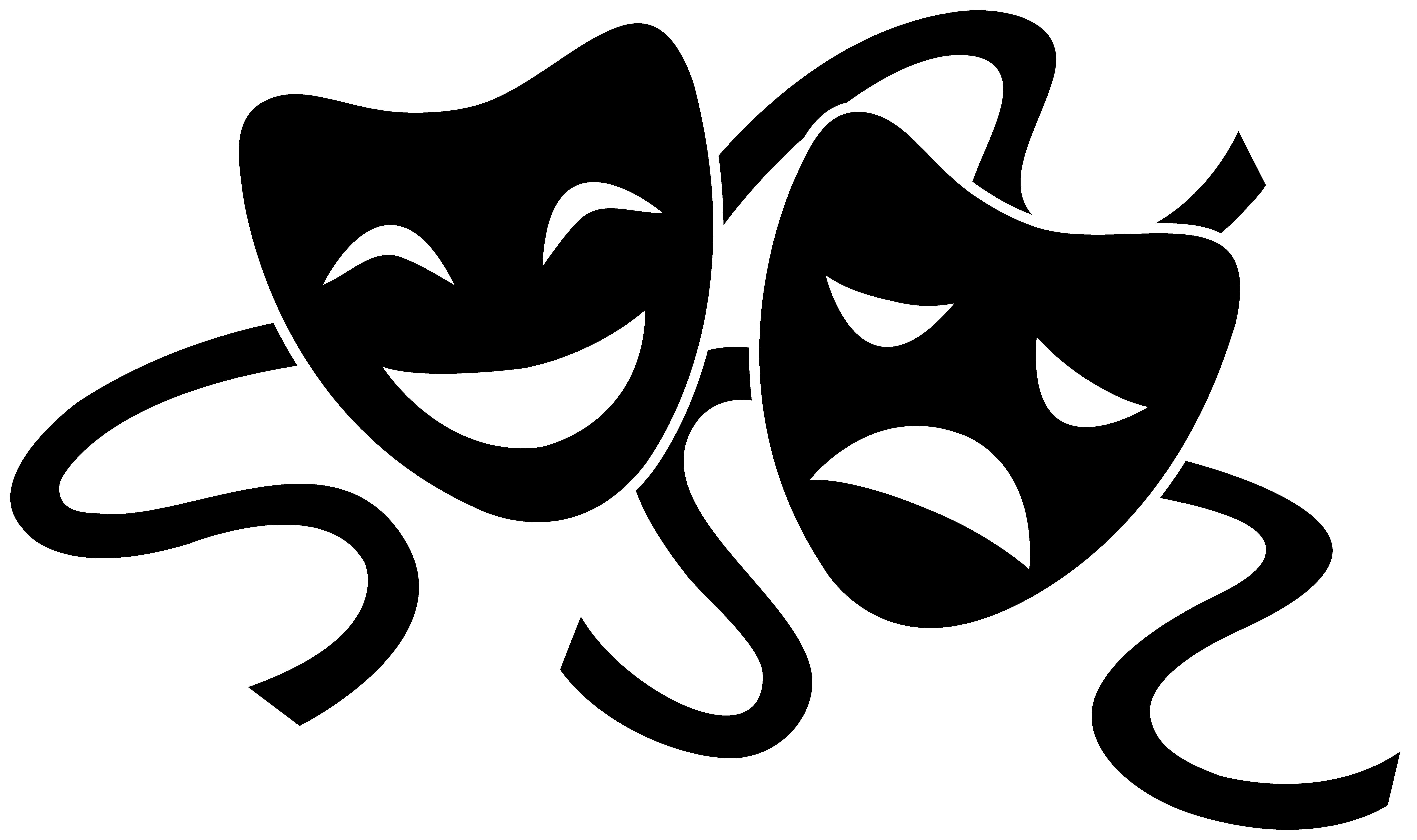 Copy of greek culture. Theater mask png vector royalty free library