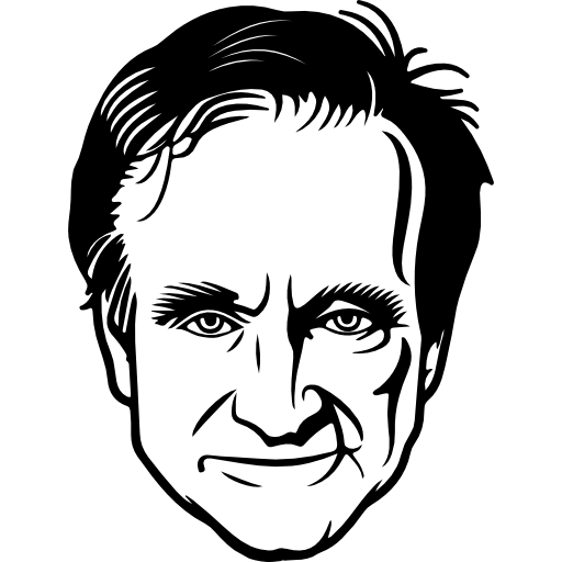 Acting drawing male celebrity. Actor icon png svg