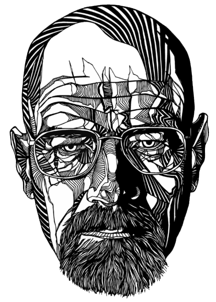 Acting drawing pencil art. Tedsinventorium walter white luke