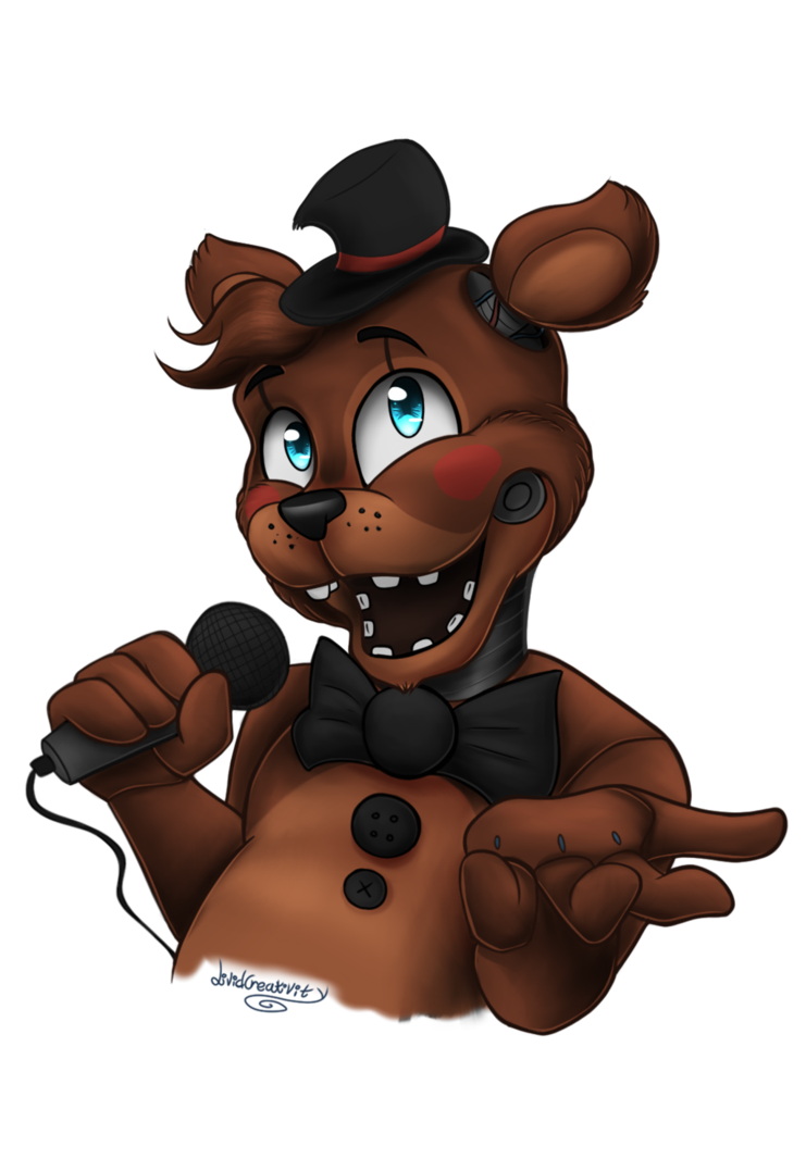 Acting drawing toy. Fnaf freddy and friends
