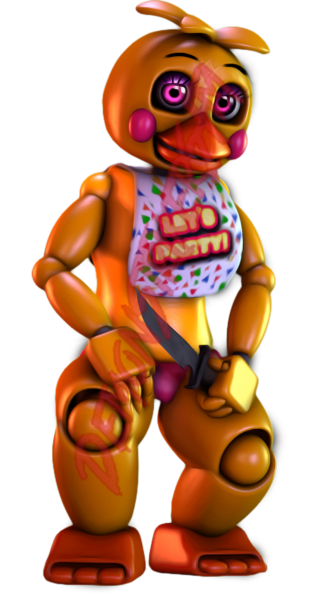 Acting drawing toy. Sfm fnaf chica render