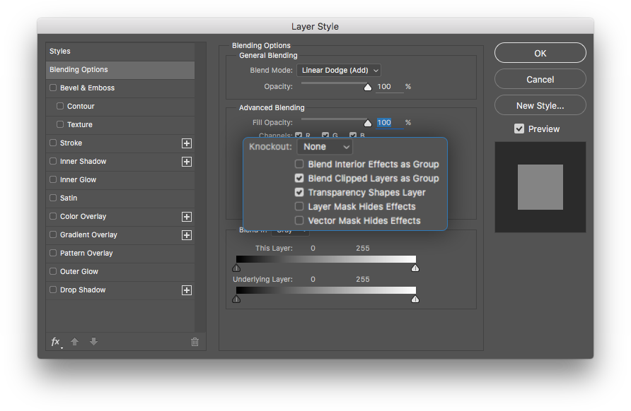 Add png to photoshop. Blend mode different in