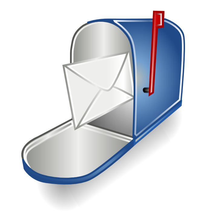 Mailbox vector mail box. Email icon free icons