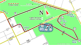 Adelaide street circuit png. South australia f super