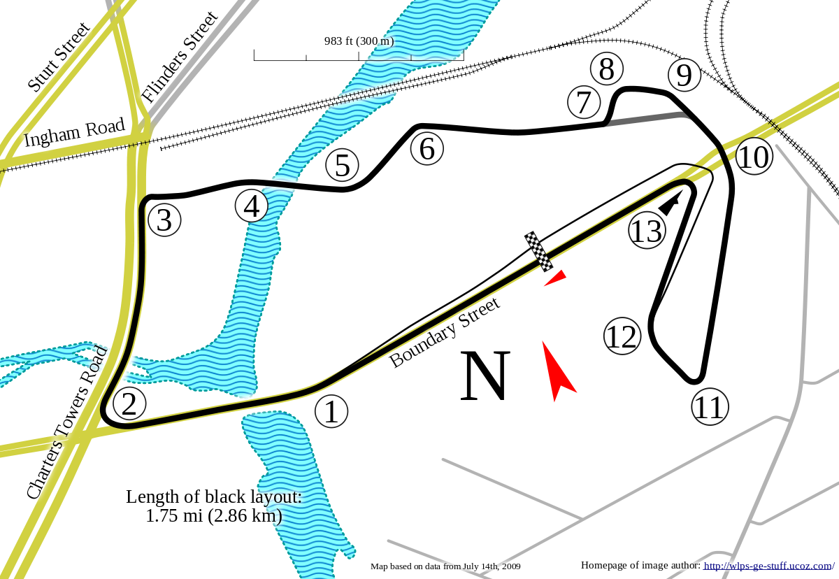 Adelaide street circuit png. Townsville wikipedia