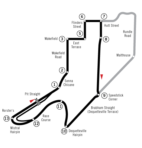 Adelaide street circuit png. File wikimedia commons filecircuit