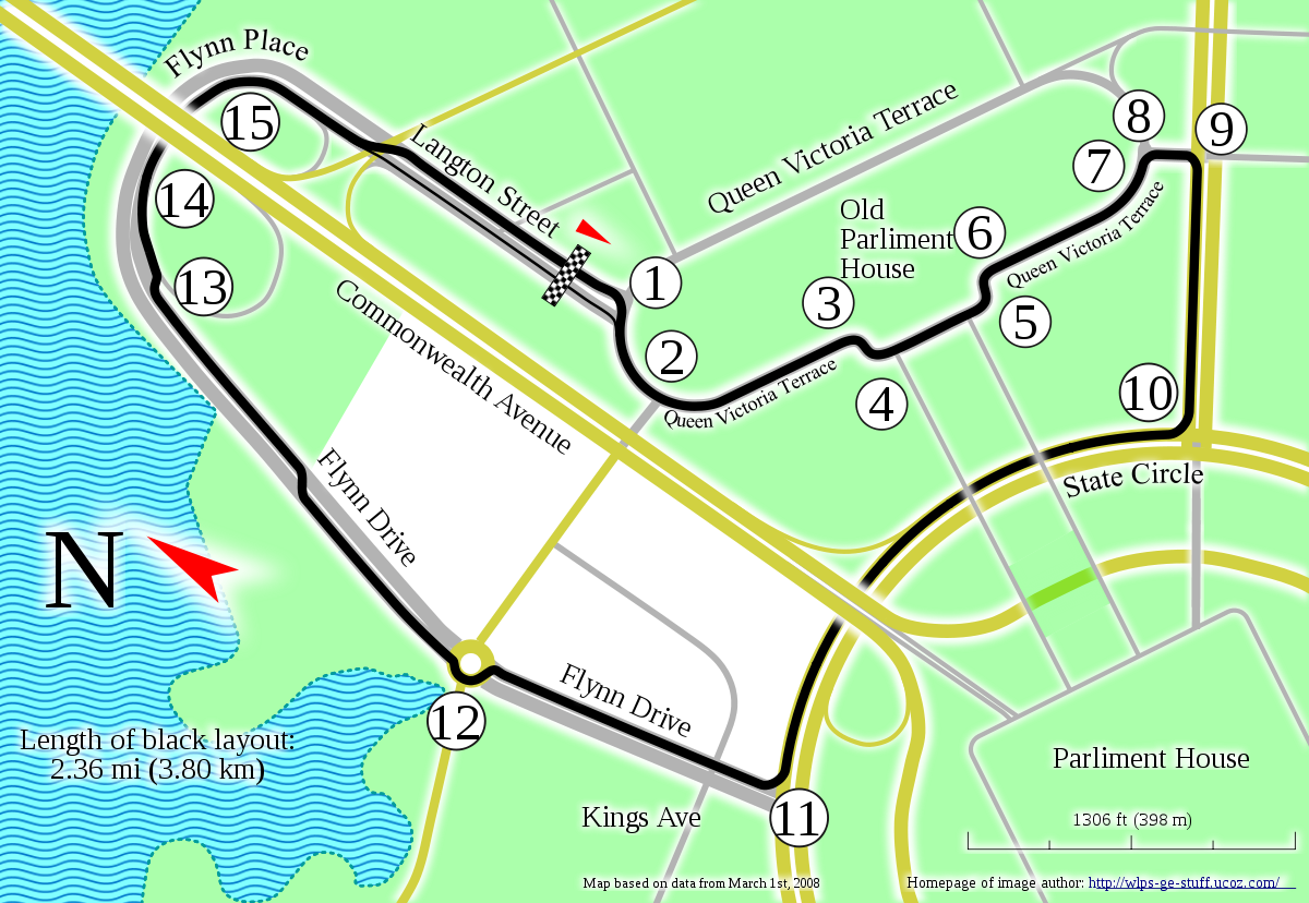 Adelaide street circuit png. Canberra wikipedia