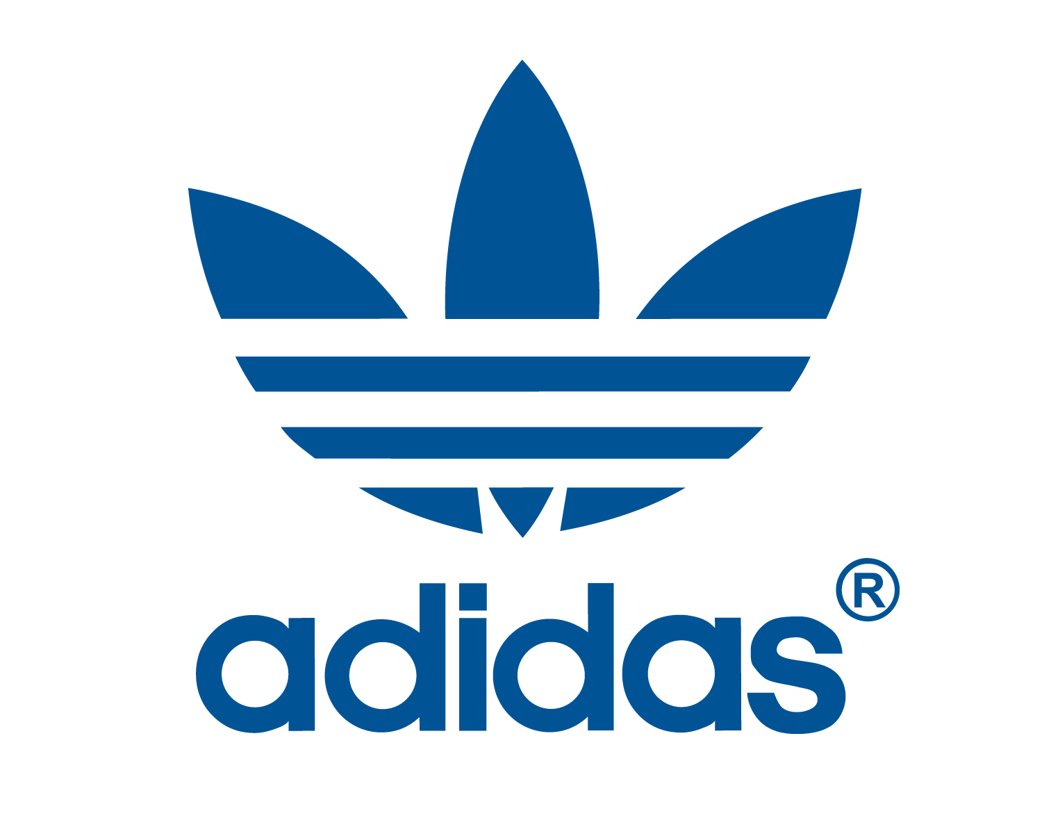 Adidas logo png. Transparent background famous logos