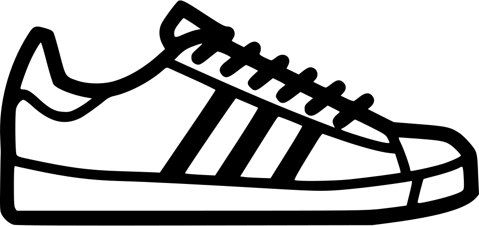 Footprint svg tennis shoe. Adidas superstar png icon