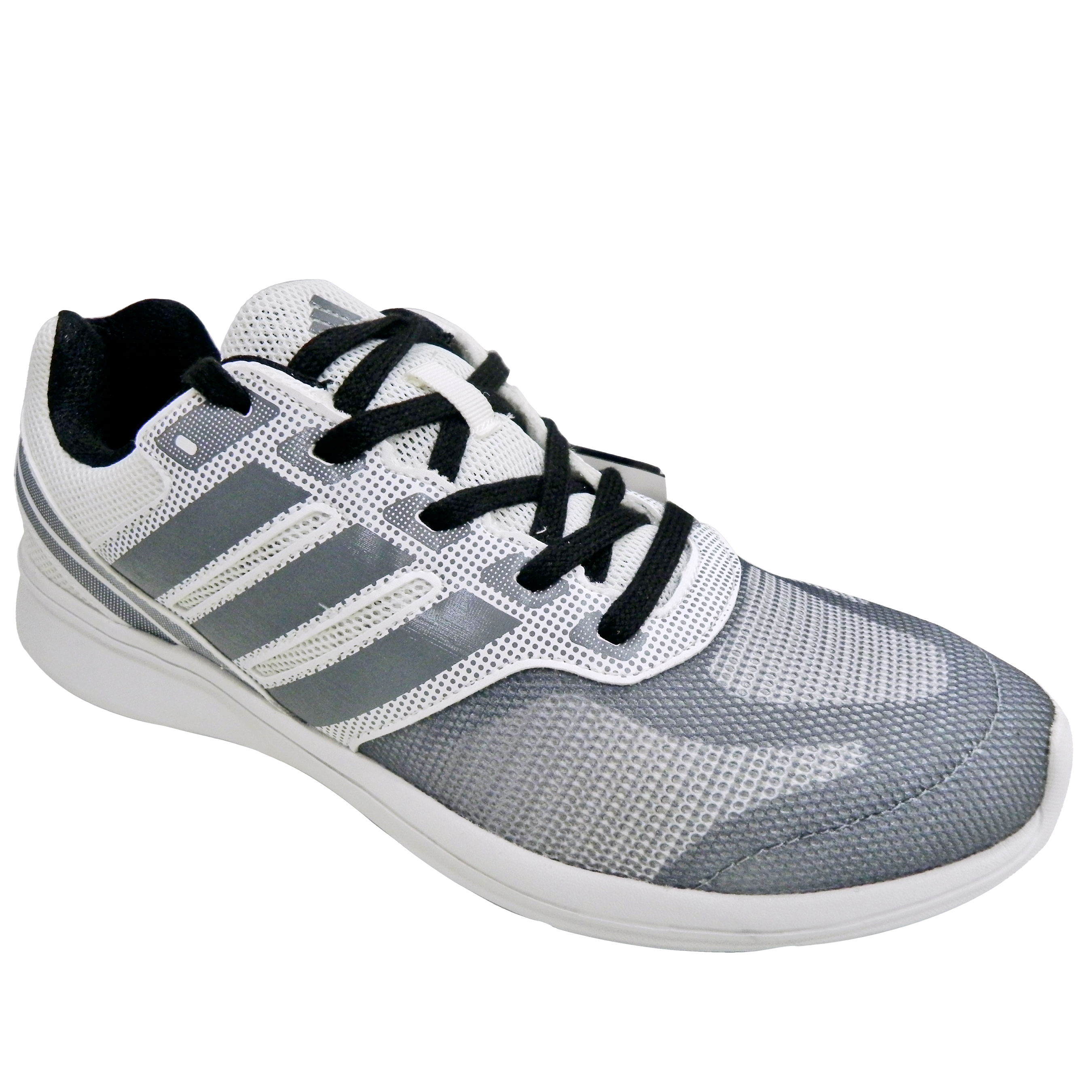 Adidas shoe sole pattern png. White grey sports dhar