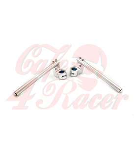 Adjustable clip handle. Cafe racer ons universal