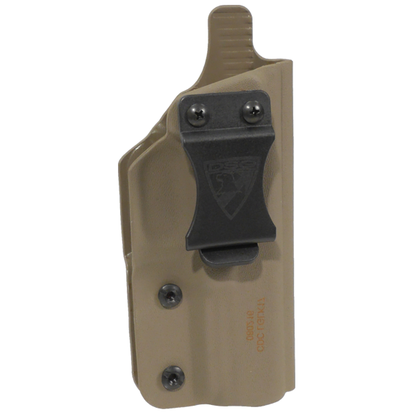 Adjustable clip holster. Cdc sig p right