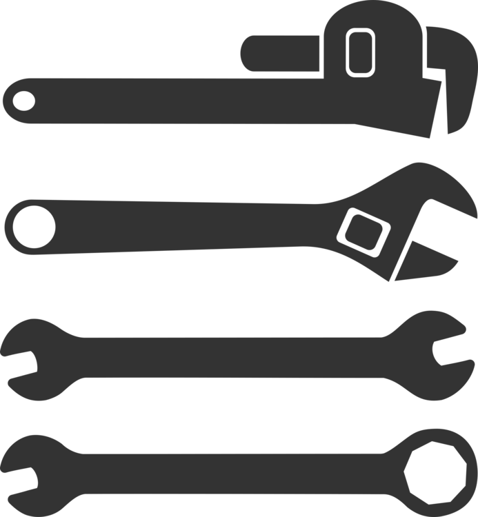 Tools clip pipe. Spanners wrench tool adjustable