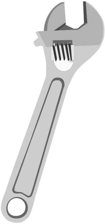 Adjustable clip pipe. Spanner spanners wrench hand