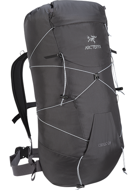 Adjustable clip rucksack strap. Cierzo backpack arc teryx