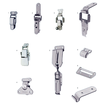 Adjustable clip spring loaded. Emka catalogue section a