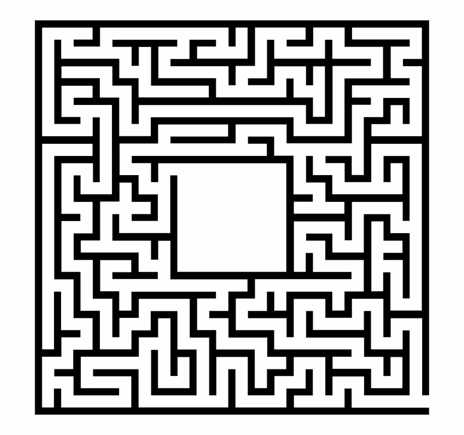 Pdf maze. Download for free png