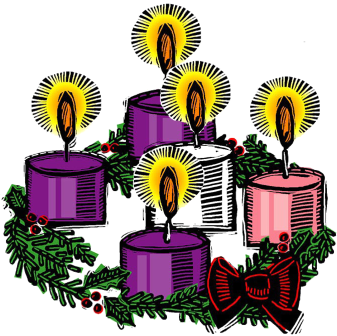 advent wreath png