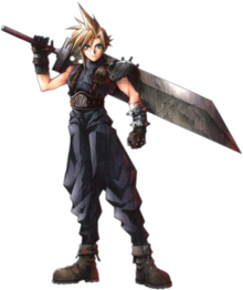 Cloud strife hair png. Wikipedia