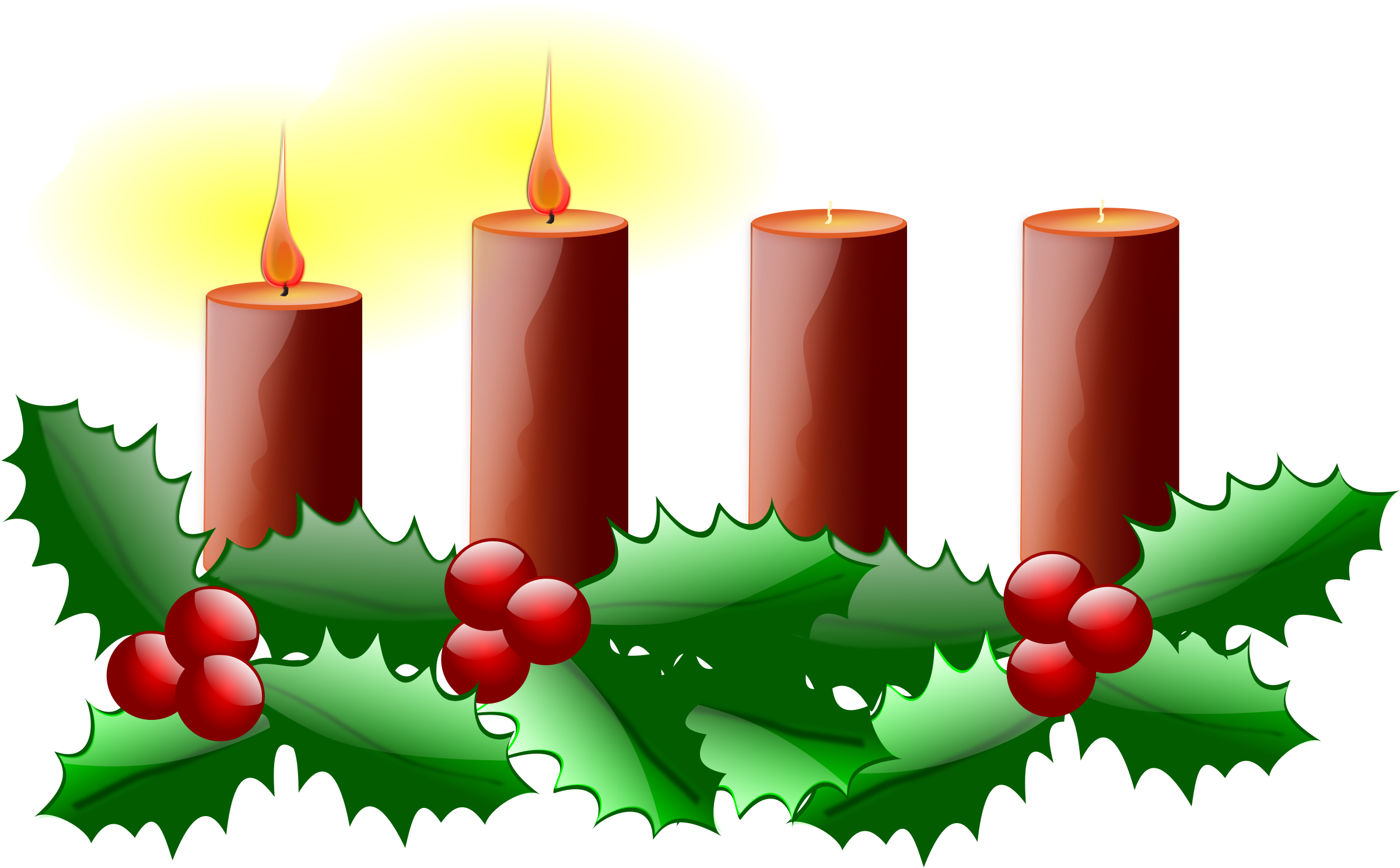 Advent wreath png. Clipart second sunday of