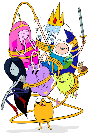 Adventure time characters png. Img i m a