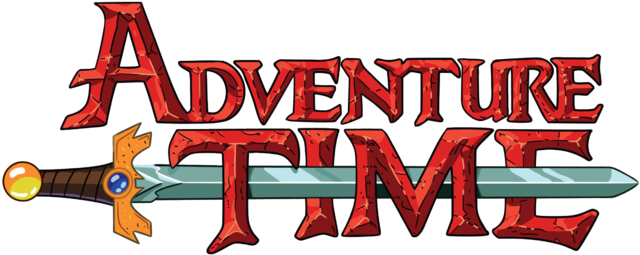 adventure time logo png