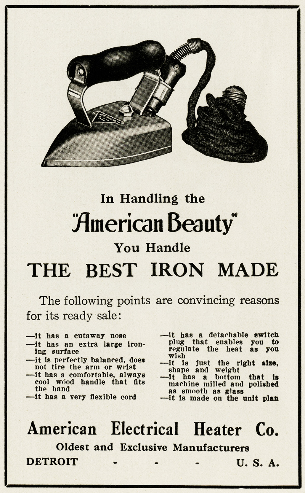 Advertising clipart convincing. Clothes iron free vintage