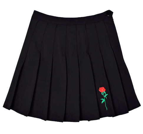 Aesthetic clothes png. Itgirl shop rose embroidery