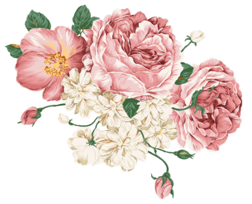 aesthetic flower png