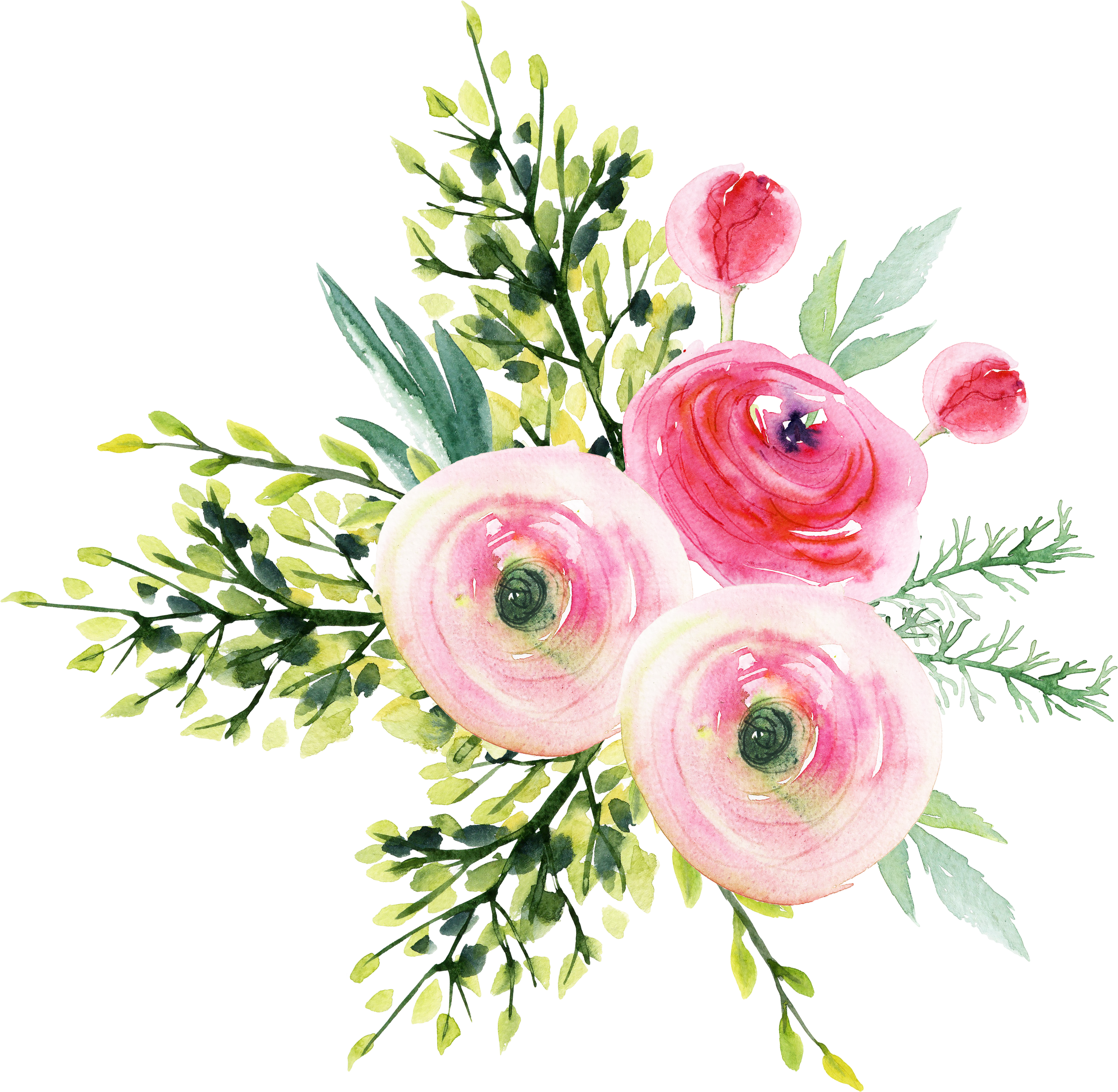 Aesthetic flower png. Garden roses bouquet refined