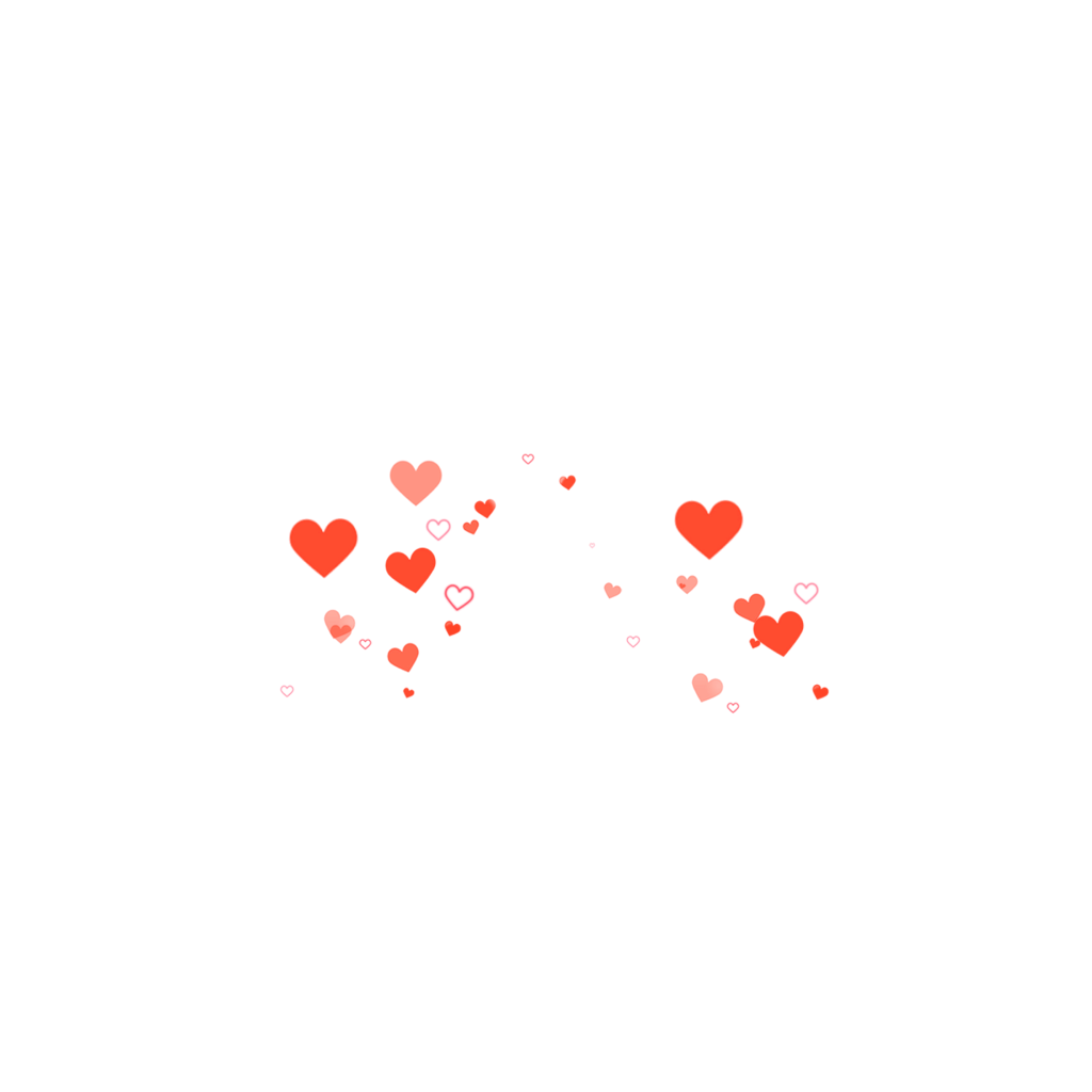 Aesthetic heart png. Hearts red tumblr sticker