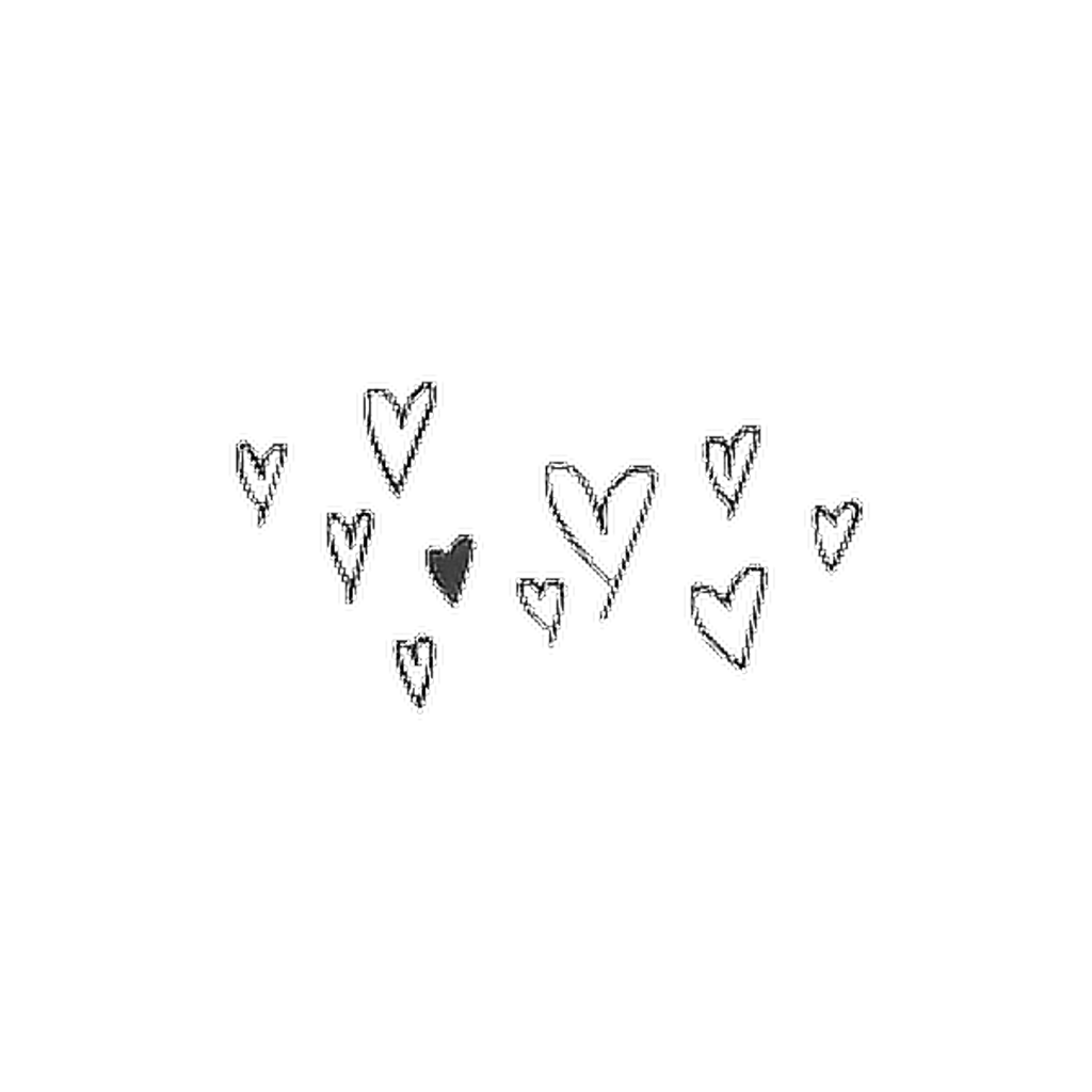Aesthetic heart png. Hearts tumblr cool cute