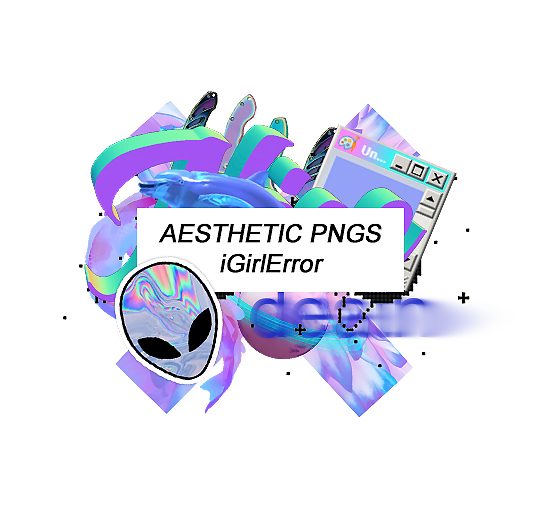 Error transparent aesthetic. Pack pngs by igirlerror