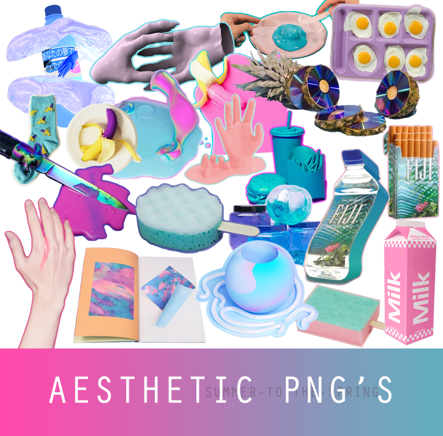 Aesthetic png pack. S by summer to