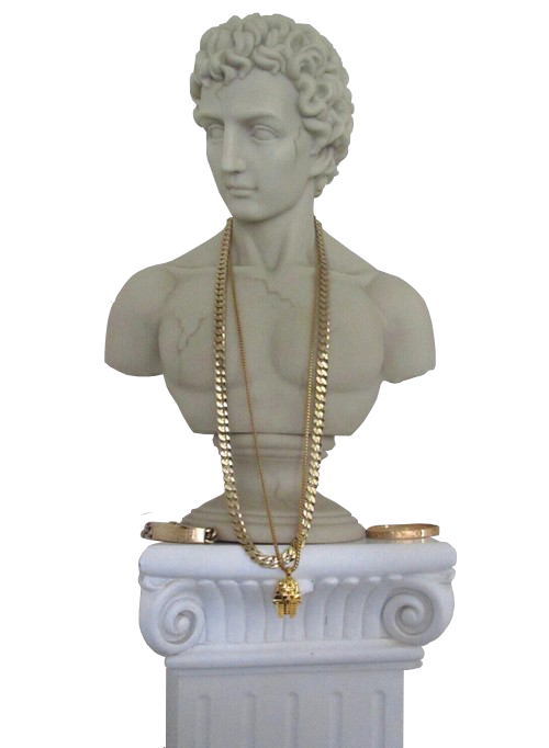 Aesthetic roman statue png. G af greekart its