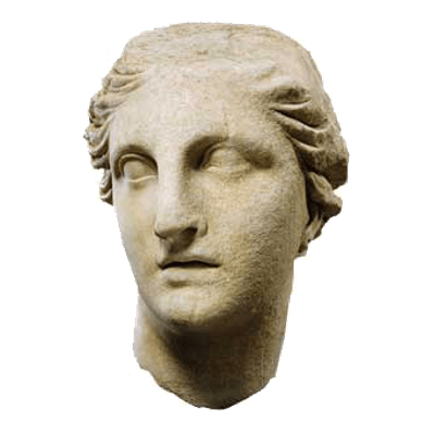 statue bust png
