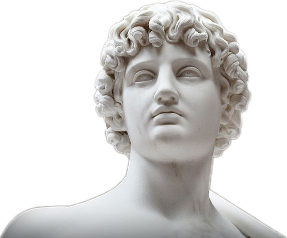 Aesthetic statue png. Scuplture sticker by ana