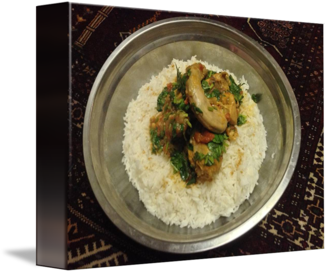 Afghan chicken over rice transparent png images. Afghani qorma with cilantro