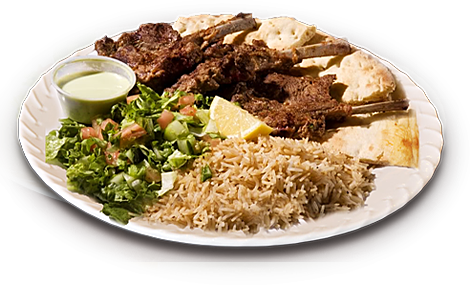 Afghan chicken over rice transparent png images. Maiwand kabob sharing the
