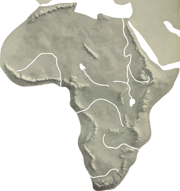 Africa blank map png. World geography free commercial