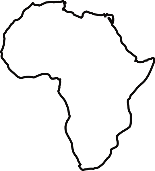 Africa clipart. Kid ink me pinterest