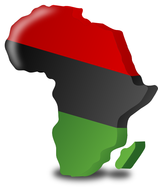 Clip art at clker. Africa clipart svg library download