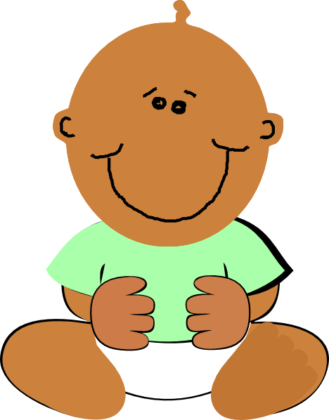 Africa clipart baby african. American