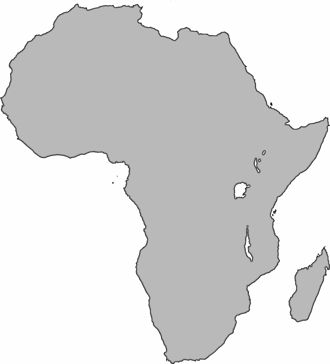 Africa clipart continent africa. Large geography continents png