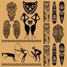 africa clipart tribe african