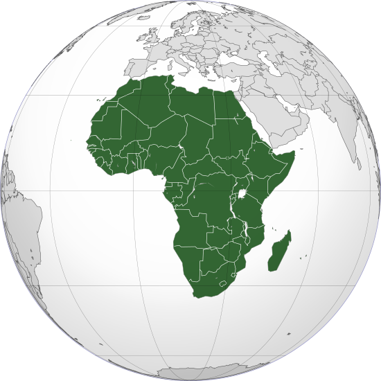 africa continent black high definition png