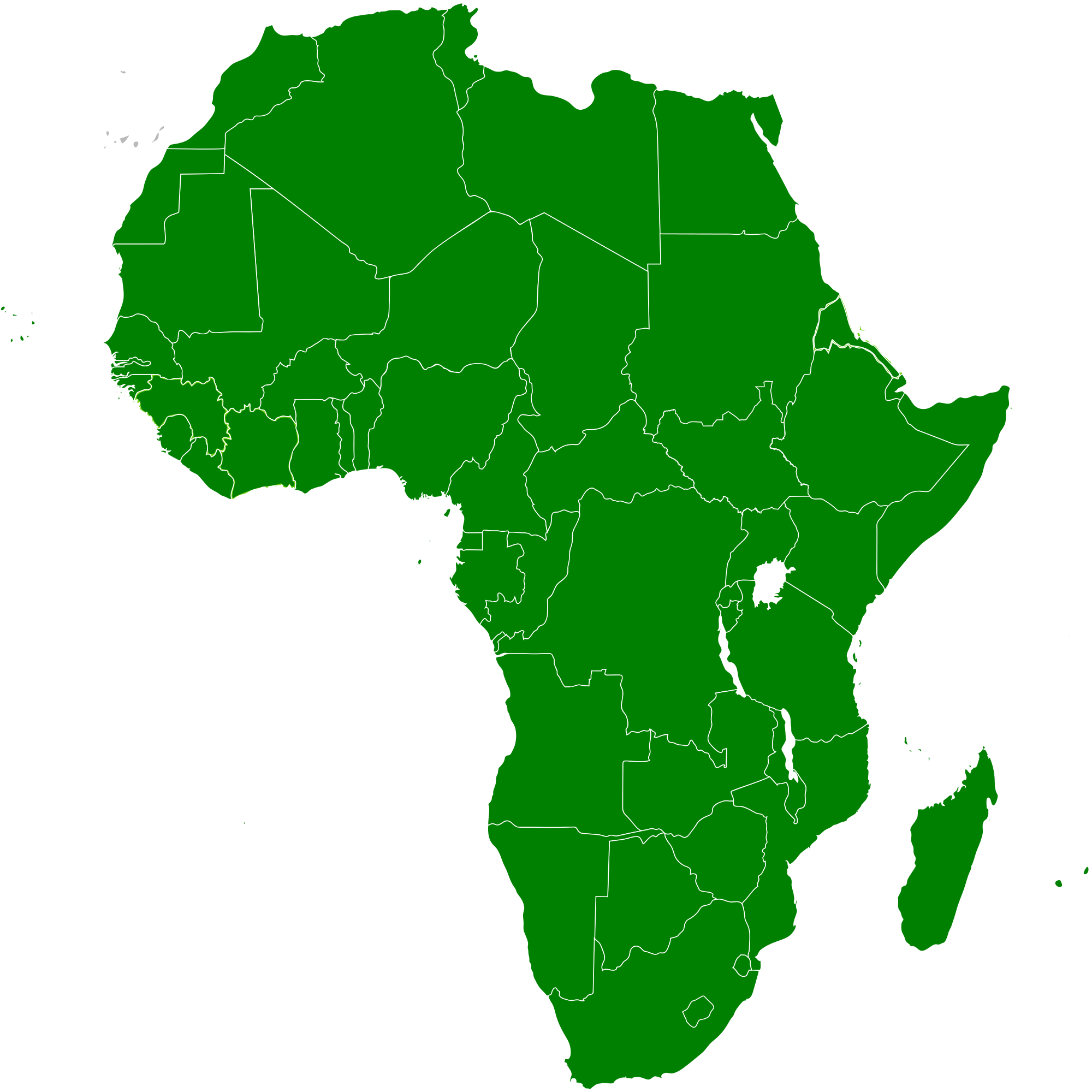 Africa map png. File of the african