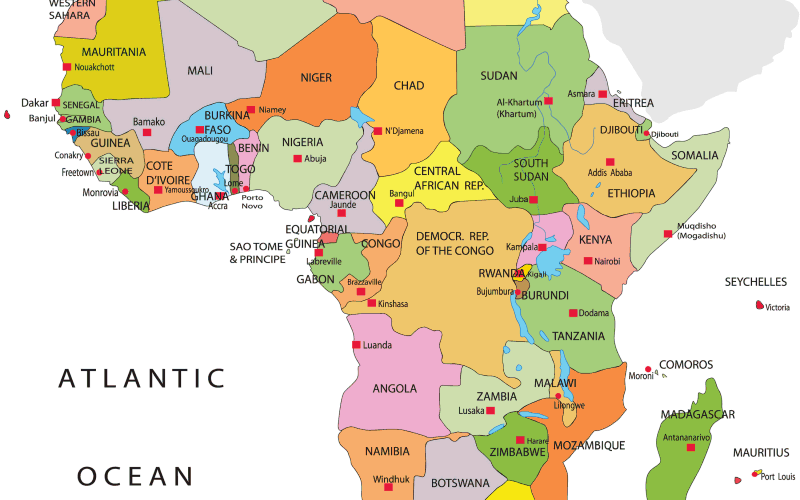 Africa map png. Maps for why they